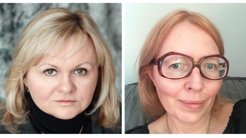 Марина Писклакова-Паркер и Татьяна Орлова